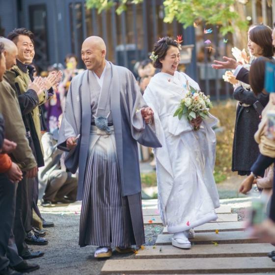 笑いあり涙あり おふたりの人柄溢れる結婚式