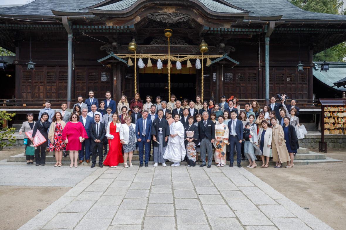 フランスと日本を繋ぐ 結婚式