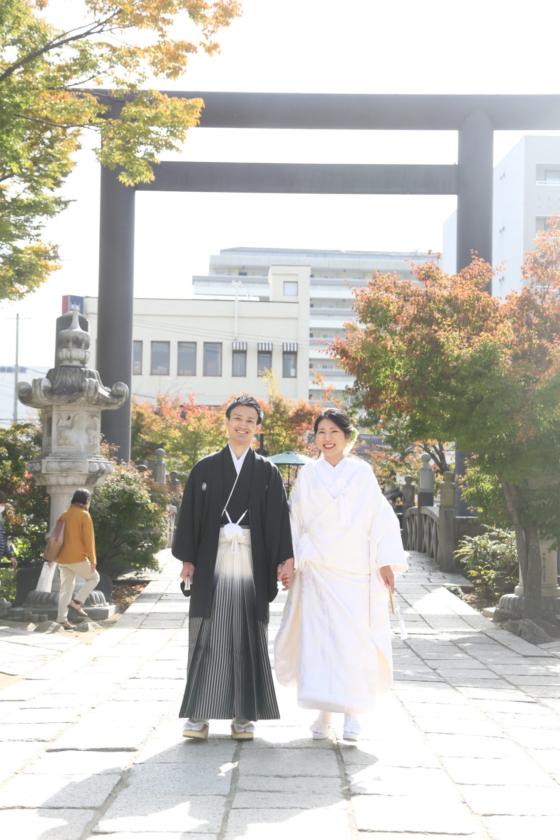 ロケフォト&神社挙式