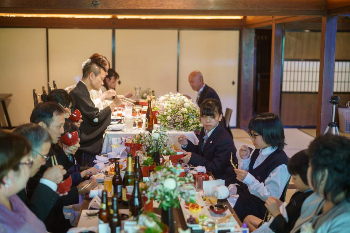 家族とおもいっきり楽しむ結婚式!