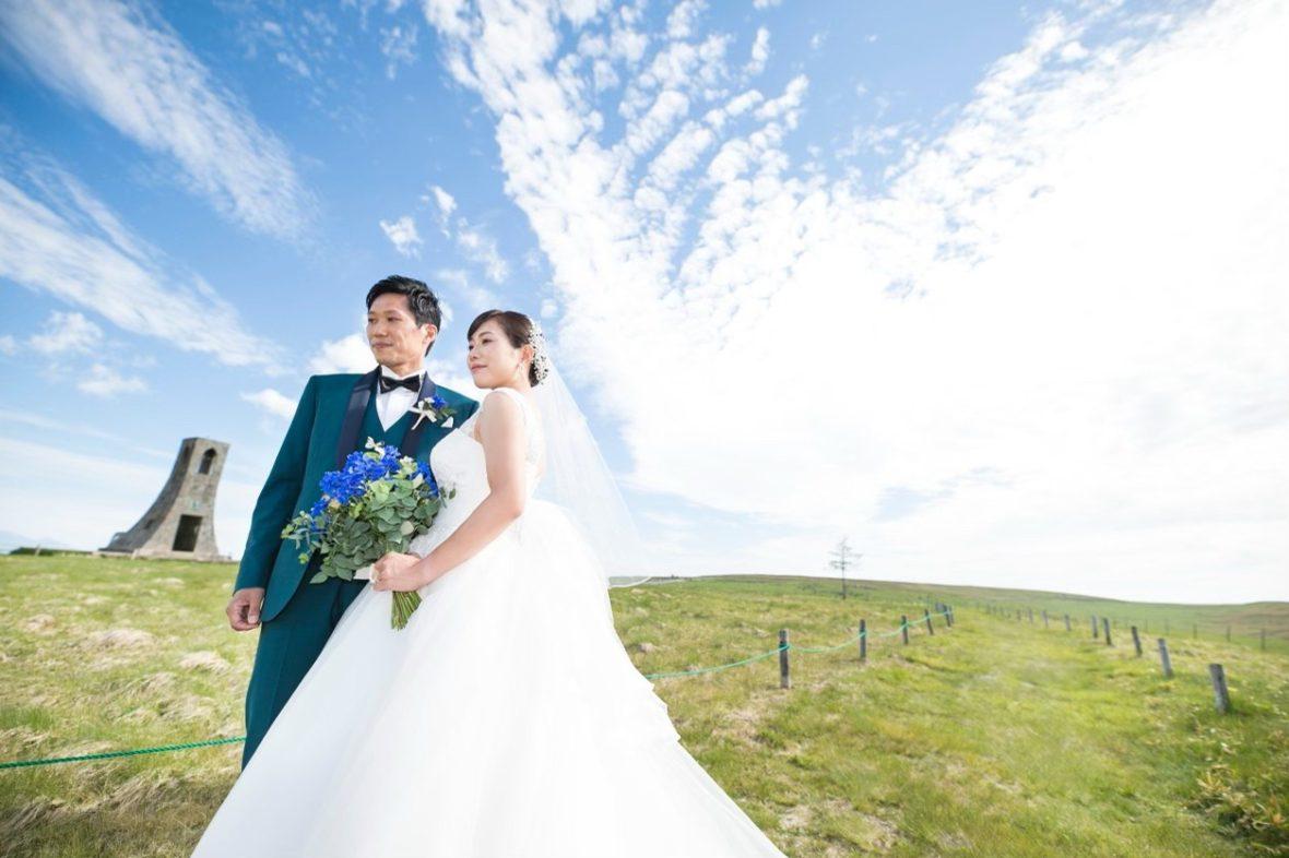 想い出の場所 美ヶ原での結婚式