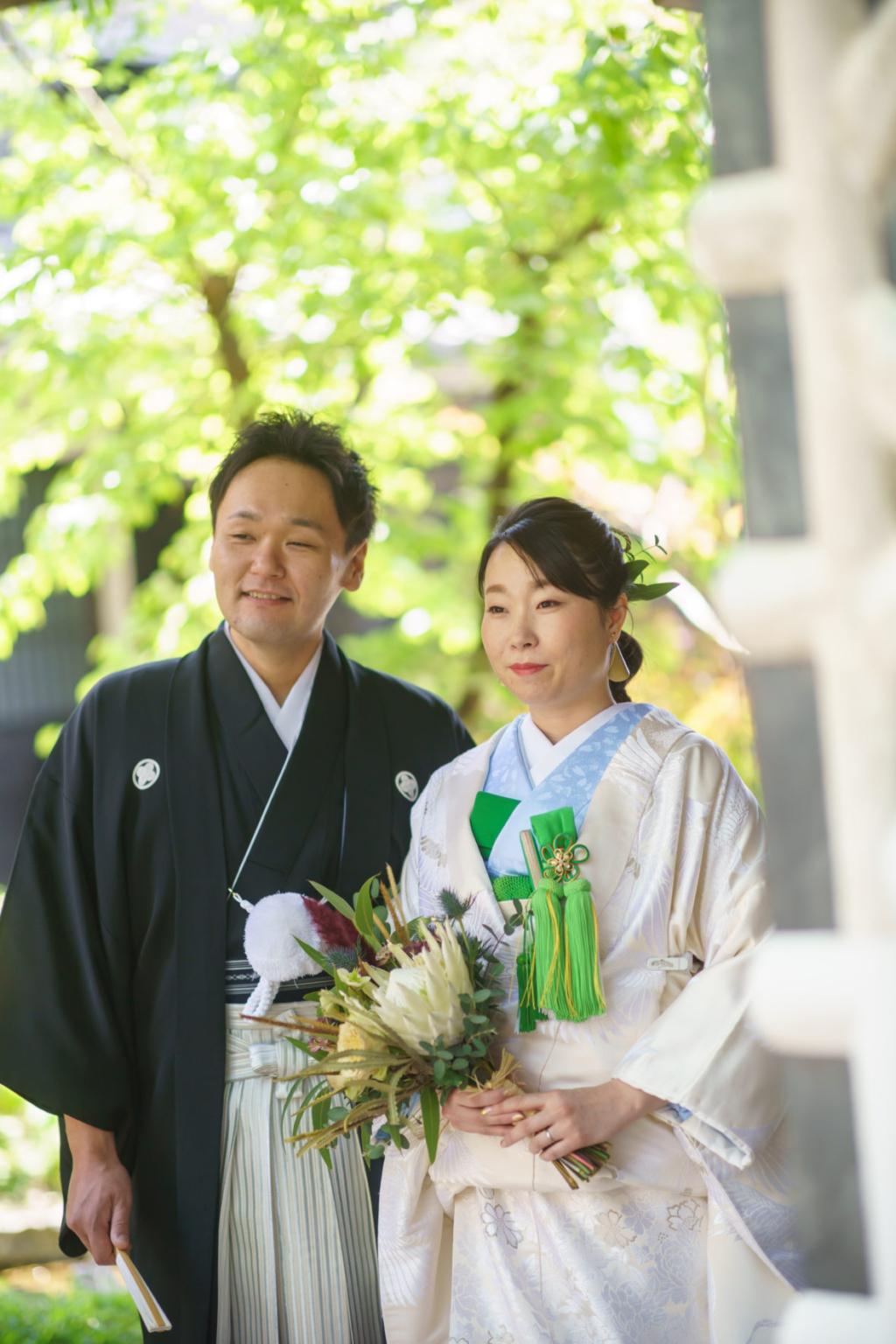1年越しの結婚式